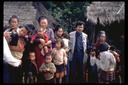 Lue Vang and villagers, Bua Chan, Thailand, 1986