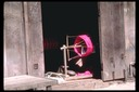 Spinning wheel, Chiang Mai, Thailand, 1986