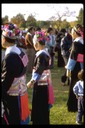 Hmong girls, New Year, Rancho Cordova, 1984