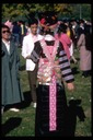 Striped Hmong costume, Rancho Cordova, 1984